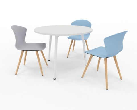 Small Round Meeting Table Elica