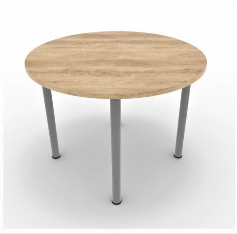 Circular Meeting Table 4 Legs