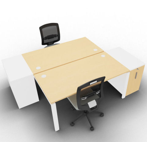Saturn 2 Person Bench Beech Low
