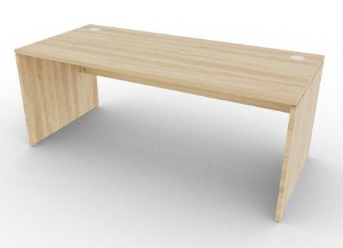 Oslo Rectangular Desk Nebraska Oak