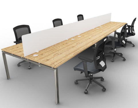 Saturn Six Person Table Timber