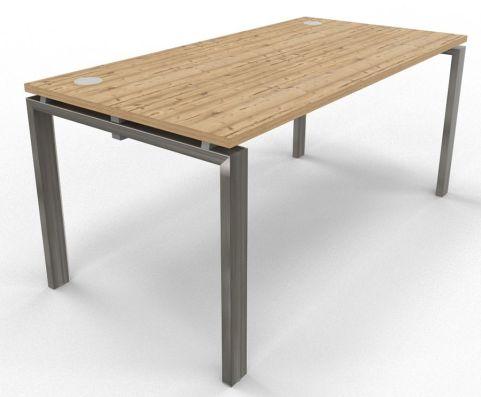 Saturn Single Desk Timber