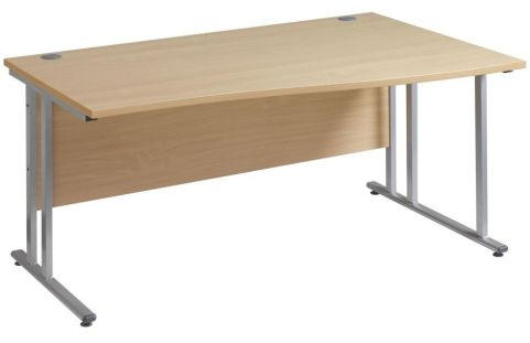 GM Right Hand Wave Desk Cantilever