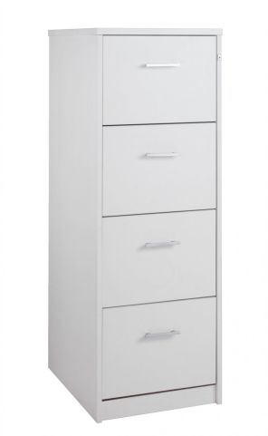 Momento Wooden Filing Cabinets White