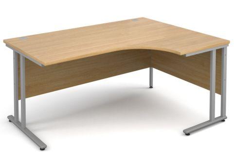 Momento Right Hand Corner Desk Oak
