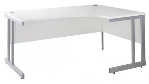 Momento Right Hand Corner Desk White