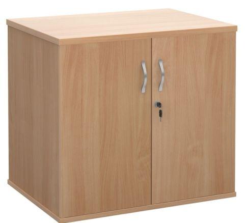 Momento Desk End Cupboard Beech