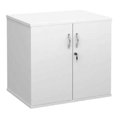 Momento Desk End Cupboard White
