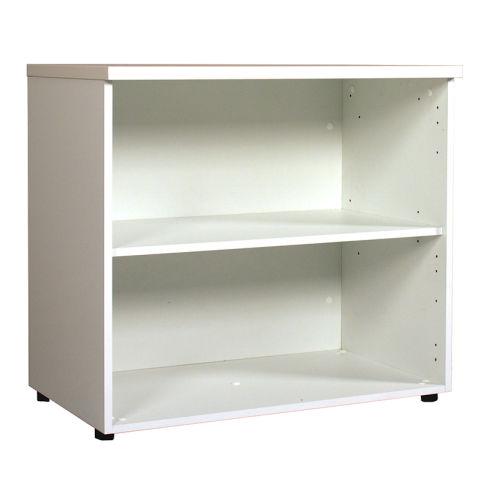 Scaffali Low Book Case Desk High White