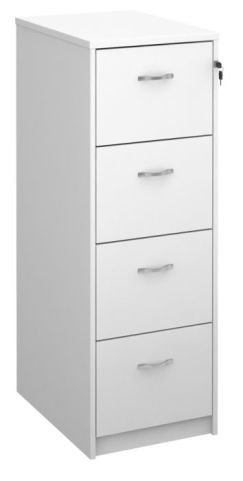 Gm Wooden Filing Cabinet White
