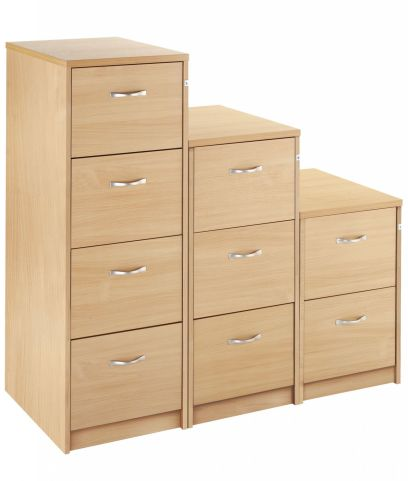 Gm Wooden Filing Cabinets Beech