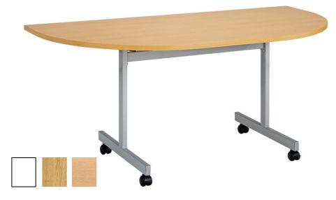 Draycott Half Moon Flip Top Table