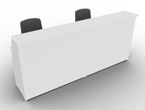 Offimat 1200 High Reception Desk White