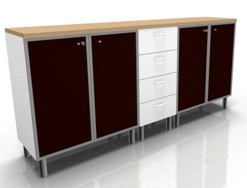 Quad Storage Configuration 3