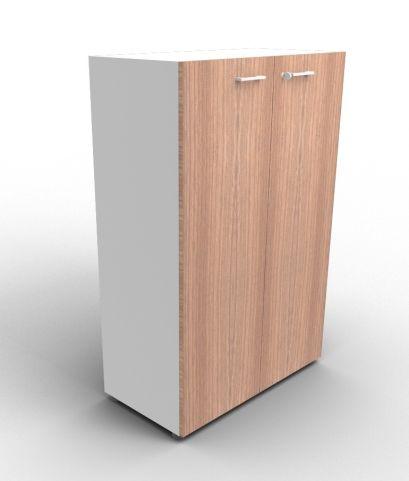 Quad 1310mm Aluminium And Walnut Cabinet