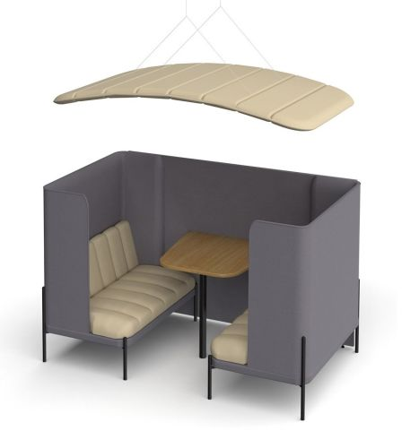 Kastaway 4 Person Booth With Canopy