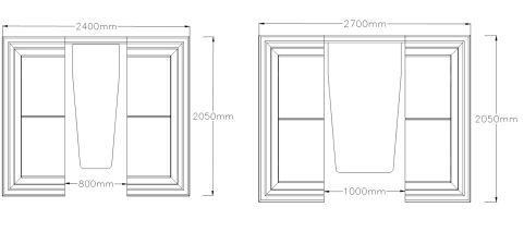 Six Seater Pod Dimensions