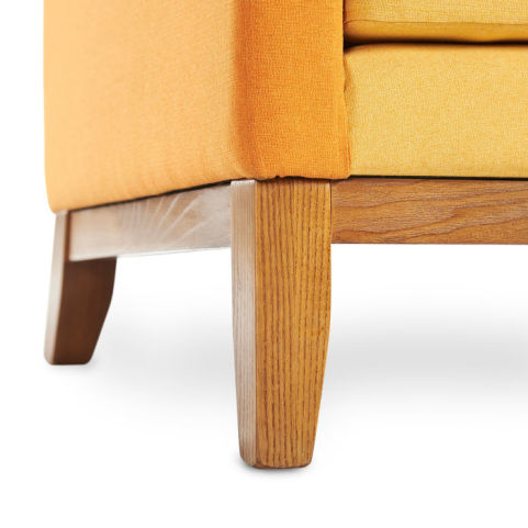 Ray Designer Sofa Leg Detail