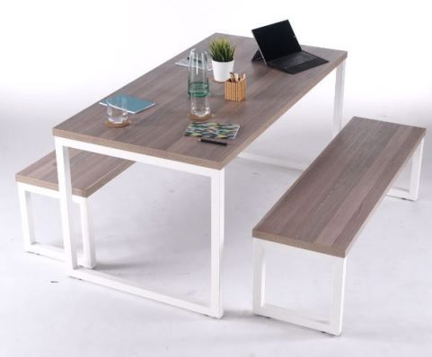 Arture Bench Dining Set Mood View