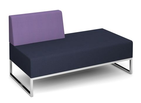 Nera Double Bench With Right Back