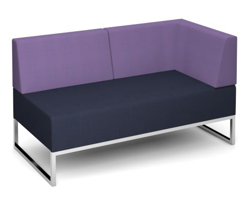 Nera Double Bench With Back And Left Hand Arm