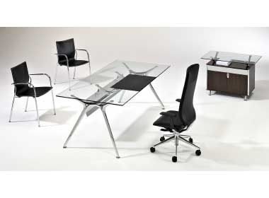 Kompass Double Wave Desks Shown In A Meeting Table Combinations