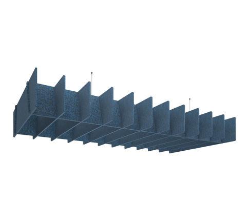 Overhead Baffle Panel Raft