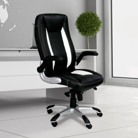 Fisher High Back Faux Leather Executive Chair Mood View