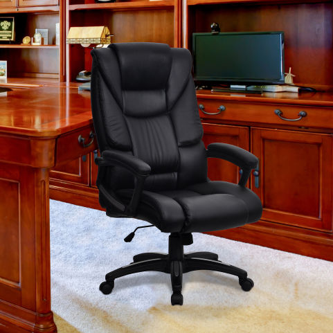 Maximas Leather Executive Chair Mood View