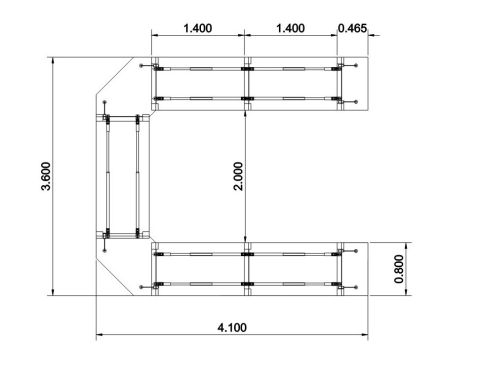 Stream Dimensions Table Conference Table U Shaped