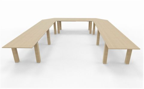 U Shaped Conference Table 1234