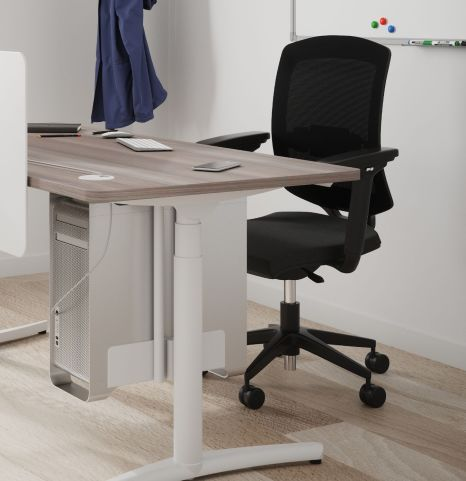 Harmonie Mesh Back Chair Height Adjustable Desk