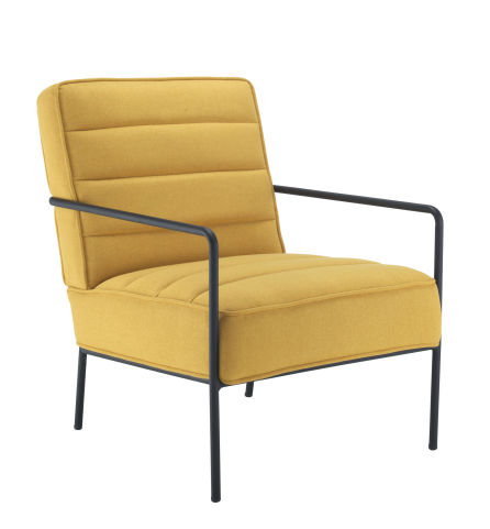 Jade Reception Chair Mustard Yellow