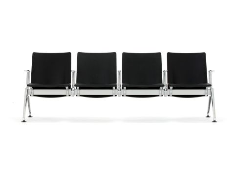 Destination Beam Seating PU Vinyl Material 4 Seater