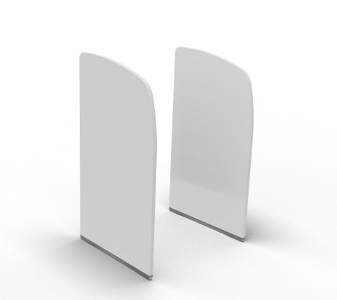 Side Panel For Offimat Double White