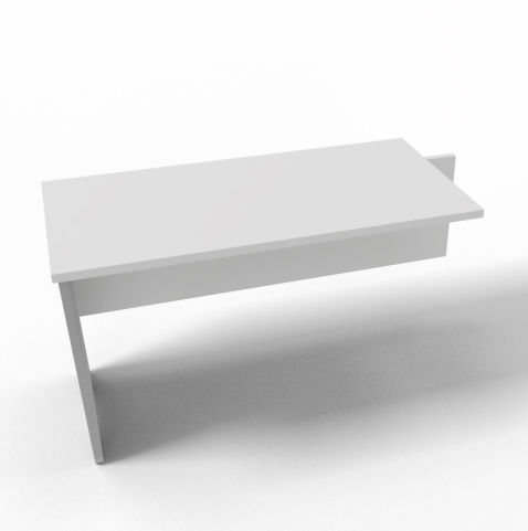 Offimat Desk Return White