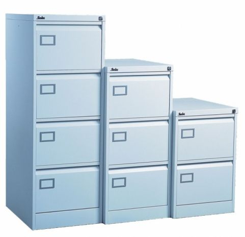 S Line Standard Colour Filing Cabinet Blue