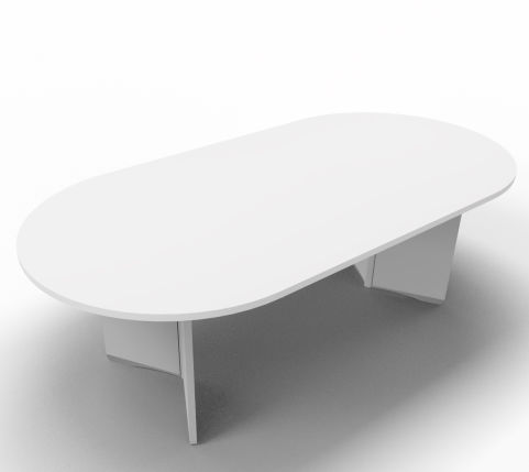 Offimat Oval Tables Side Angle