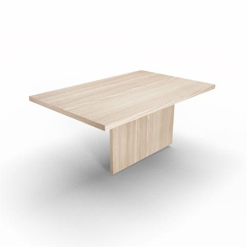 Lithos Central Desk Extension In Oak