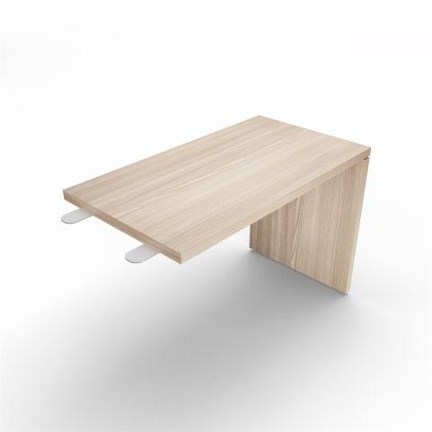 Lithos Desk Return Extension In Oak