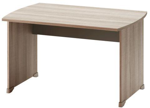 Jazz Rectangular Desk Grey Oak 1200mm