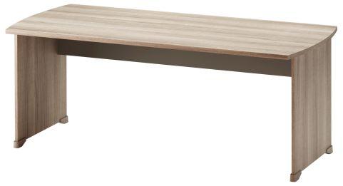 Jazz Rectangular Desk Grey Oak 1800mm