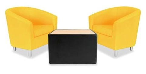 Tritium Tub Chair Coffee Table