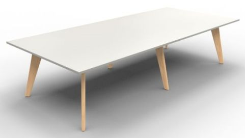 BODO Rectangular Table 1400mm White