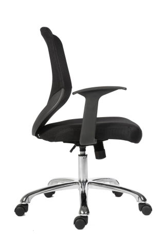 Bisoto Mesh Chair Side View Profile