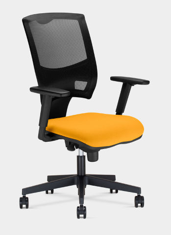 Relay Mesh Chair Yello Seat Paf