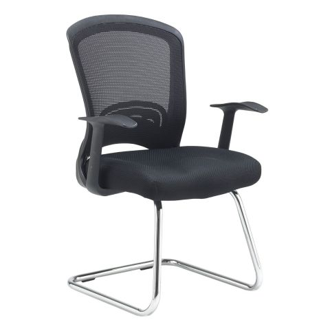 Solstice Mesh Conference Or Visitors Chair Side