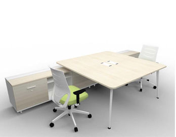 Elacia Desk & Credenza