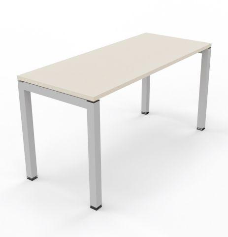 Bralco Bench UnitLight Oa K Top White Aluminium Legs 600mm Deep Unit