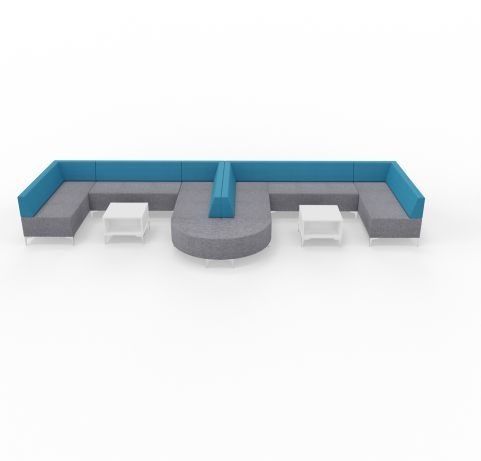 Form Seating Combination With Coffee Tables 2
